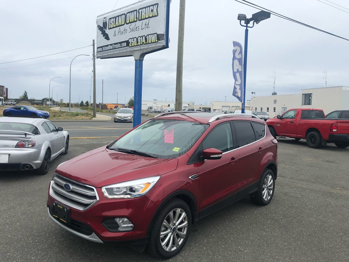 2017 Ford Escape for sale in Campbell River, British Columbia