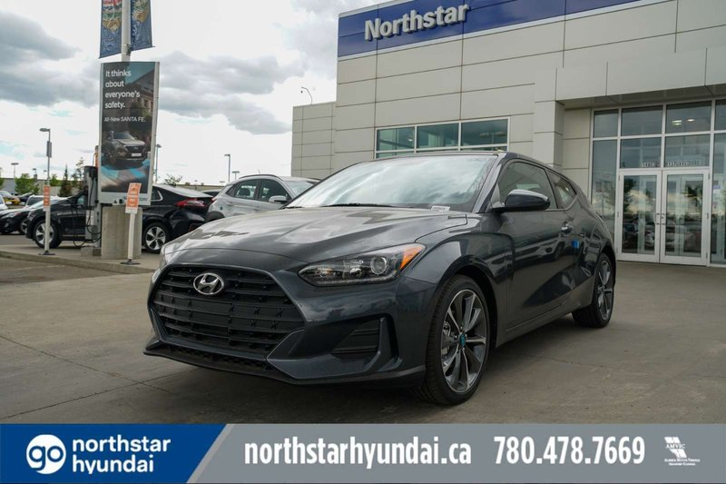 Grey 2019 Hyundai Veloster 2.0 GL for sale in Edmonton, Alberta