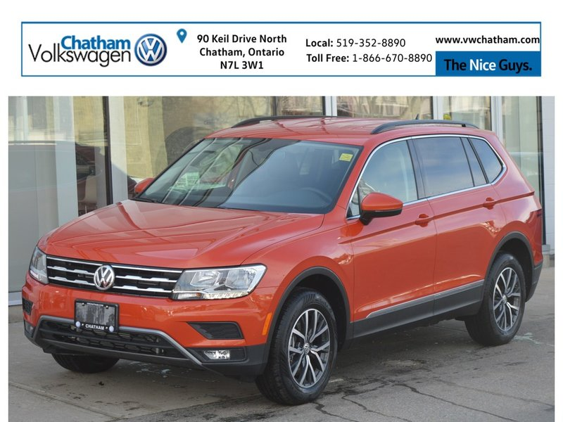 2019 Volkswagen Tiguan for sale in Chatham, Ontario