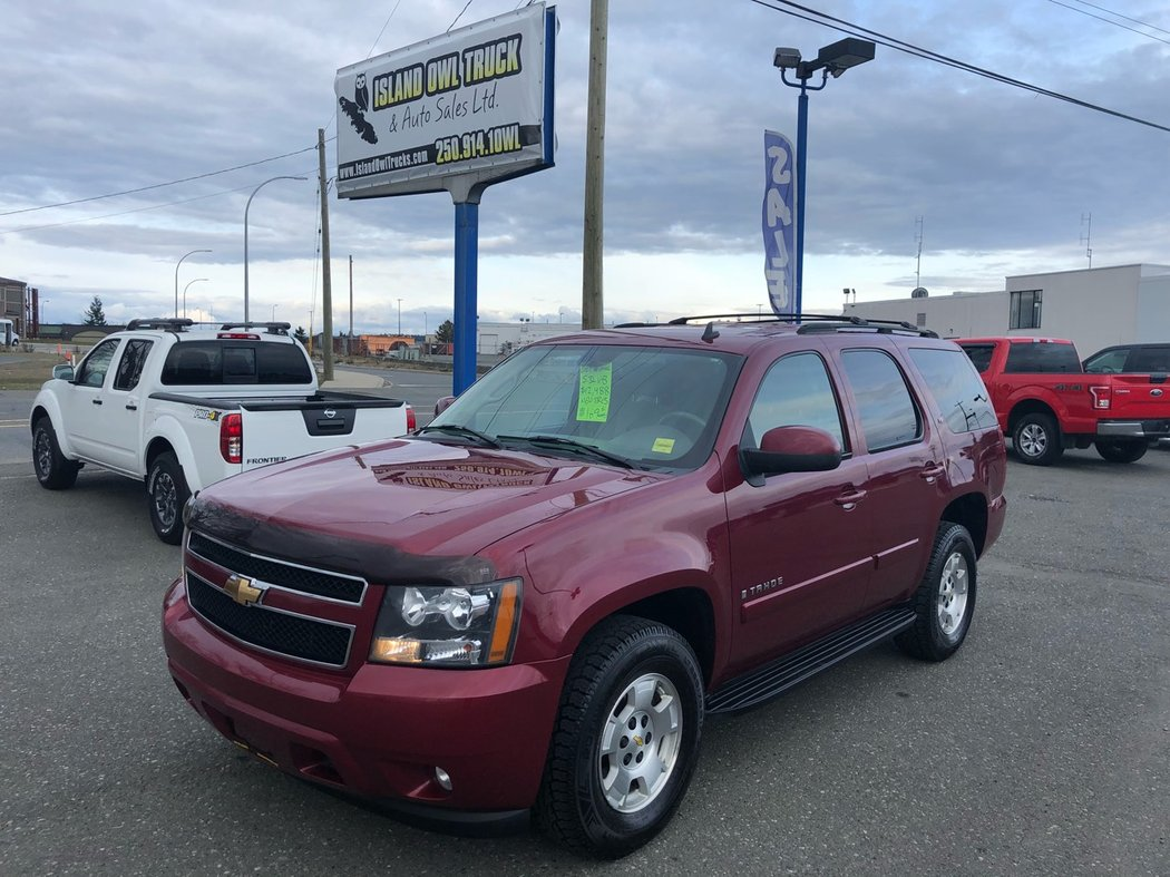 2007 Chevrolet Tahoe For Sale In Campbell River