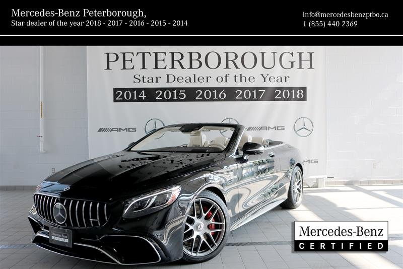 2018 Mercedes-Benz S-Class for sale in Peterborough, Ontario