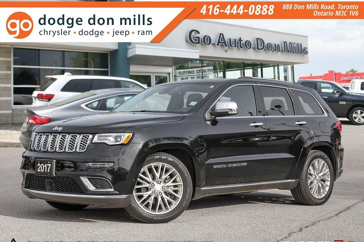 2017 Jeep Grand Cherokee Summit For In Toronto Ontario