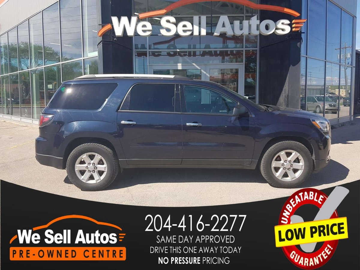 2016 GMC Acadia for sale in Winnipeg, Manitoba