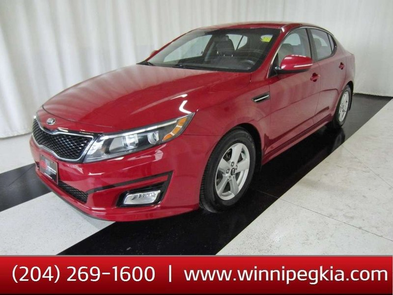 2015 Kia Optima for sale in Winnipeg, Manitoba