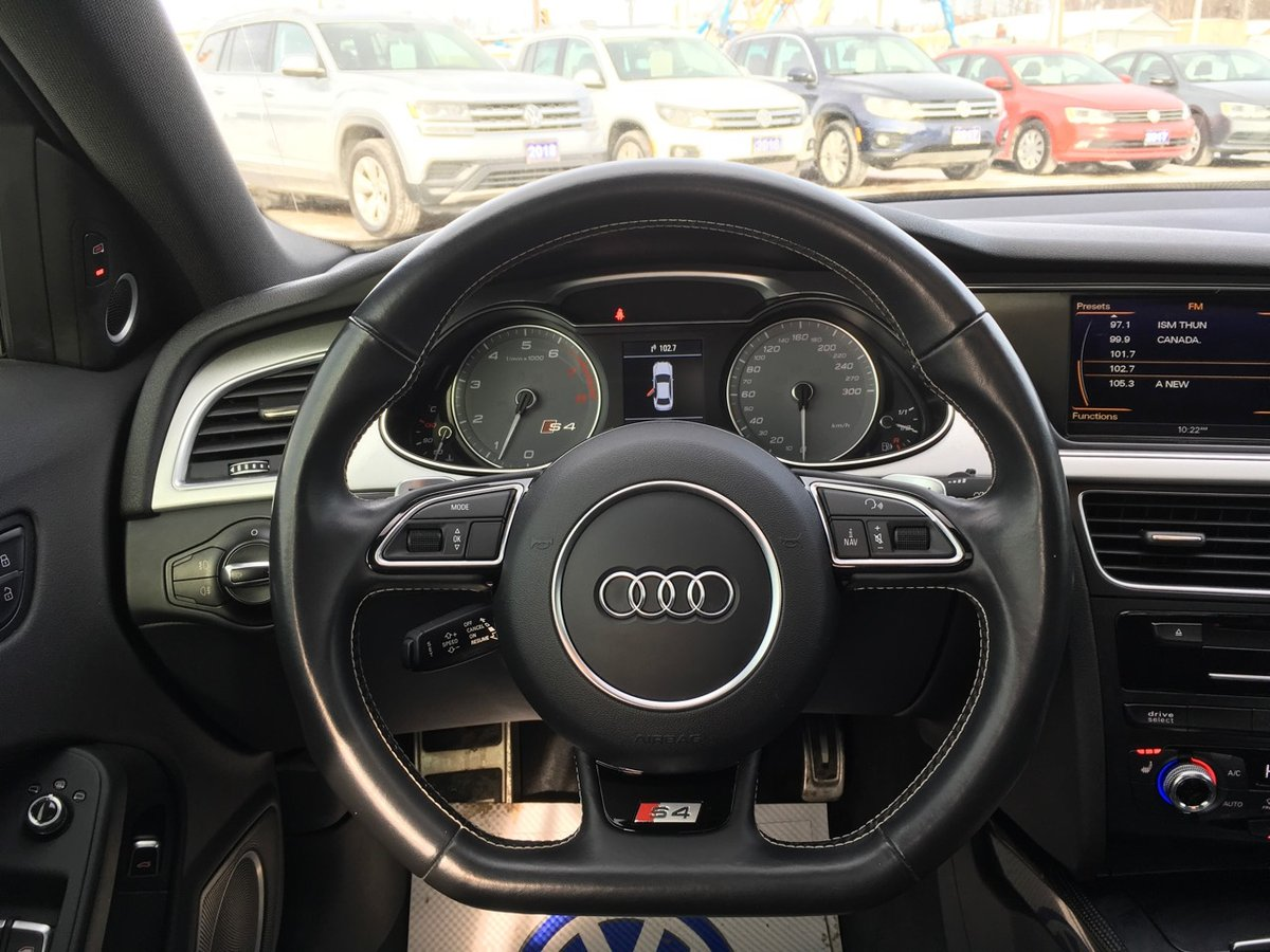 2016 Audi S4 for sale in Thunder Bay