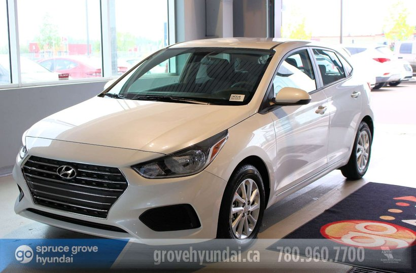 White 2019 Hyundai Accent Preferred for sale in Spruce Grove, Alberta