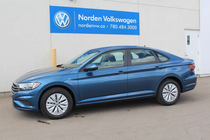 Blue 2019 Volkswagen Jetta Comfortline for sale in Edmonton, Alberta