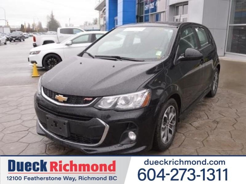 2017 Chevrolet Sonic for sale in Richmond, British Columbia