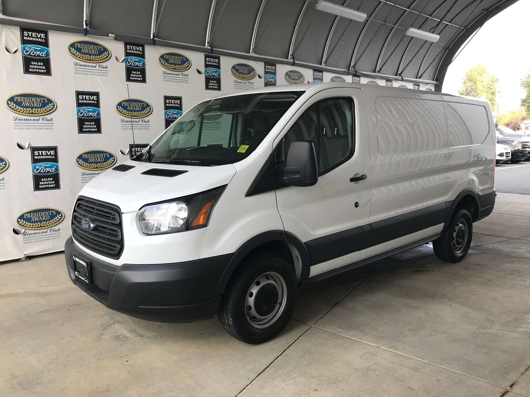 2017 ford transit cargo van for sale in campbell river british columbia