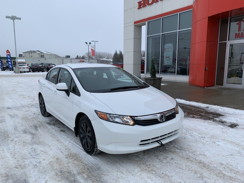 2012 Honda Civic Sedan for sale in Moose Jaw, Saskatchewan