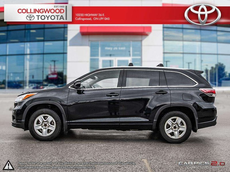 2016 Toyota Highlander for sale in Collingwood, Ontario