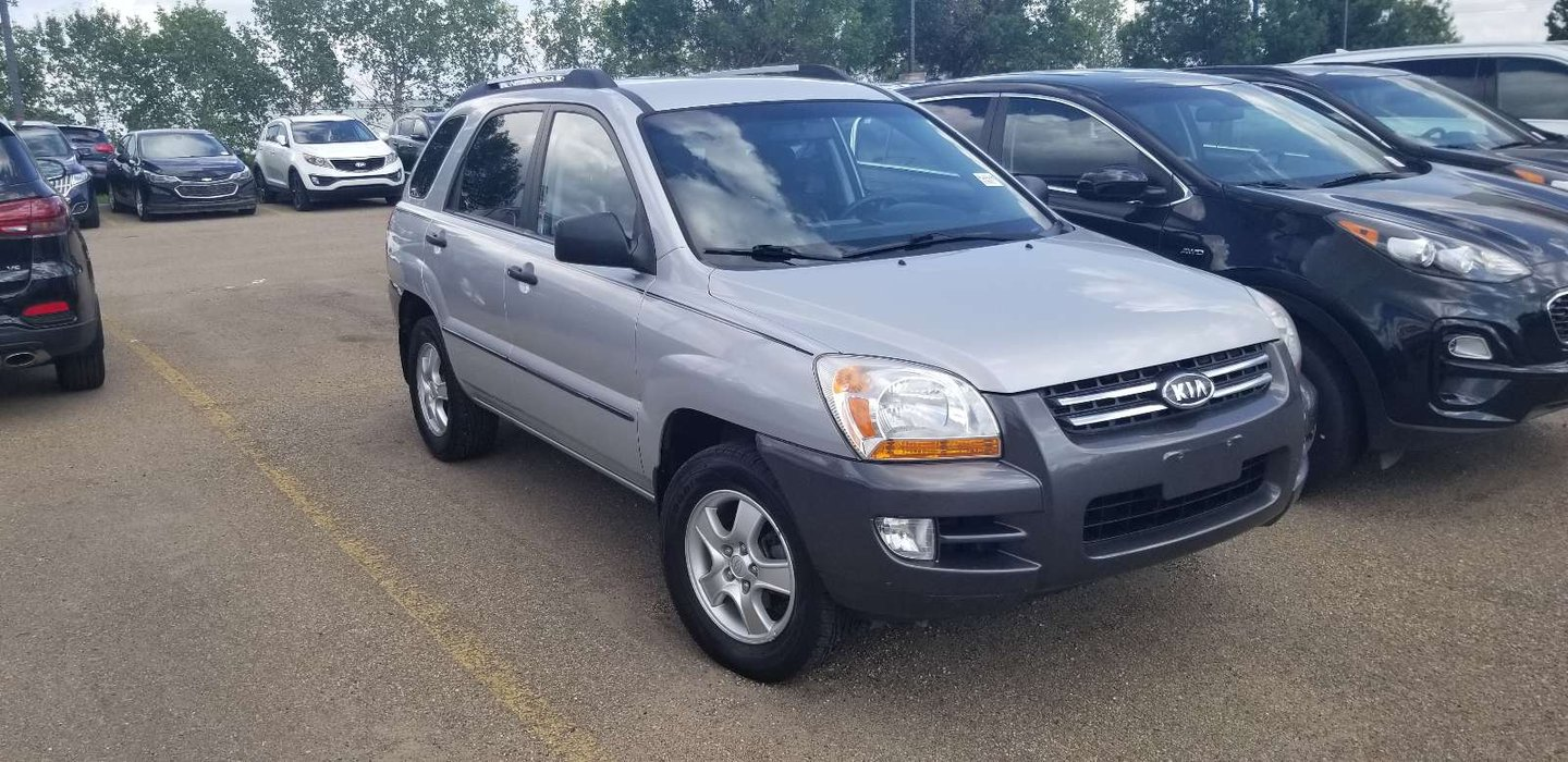 2007 Kia Sportage LX-Convenience for sale in Edmonton, Alberta