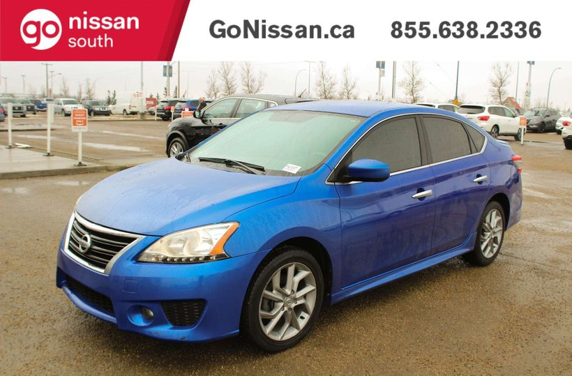 Blue 2013 Nissan Sentra SV for sale in Edmonton, Alberta