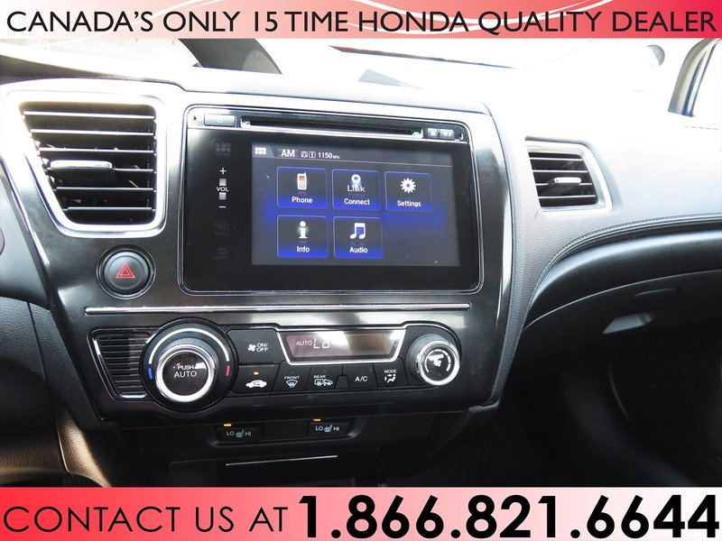 2014 Honda Civic Sedan for sale in Hamilton, Ontario