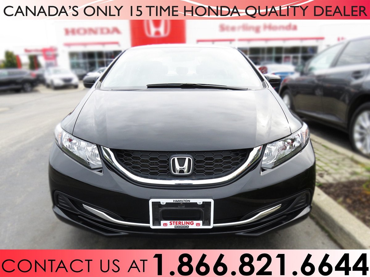 2014 Honda Civic for sale in Hamilton, Ontario