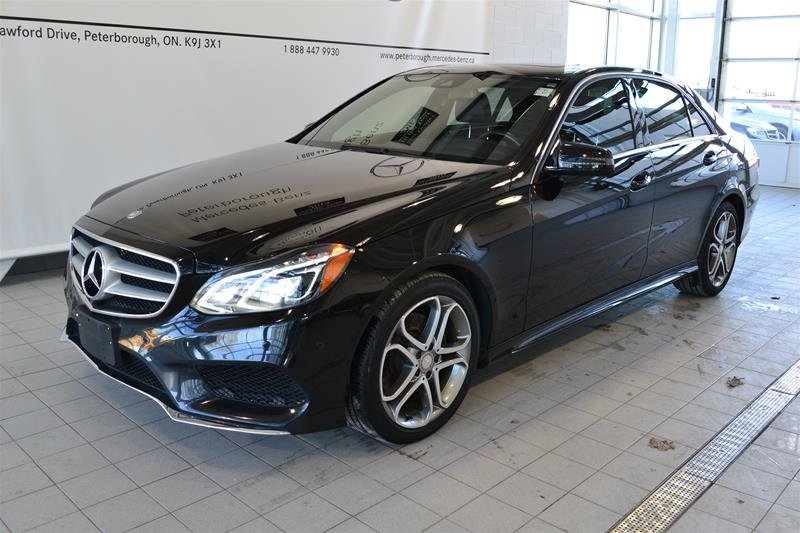 2014 Mercedes-Benz E-Class for sale in Peterborough, Ontario