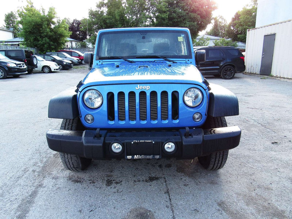 2015 Jeep Wrangler for sale in Midland, Ontario