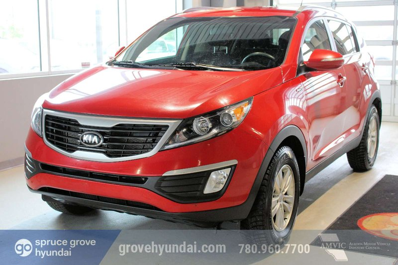 Red 2013 Kia Sportage LX for sale in Spruce Grove, Alberta
