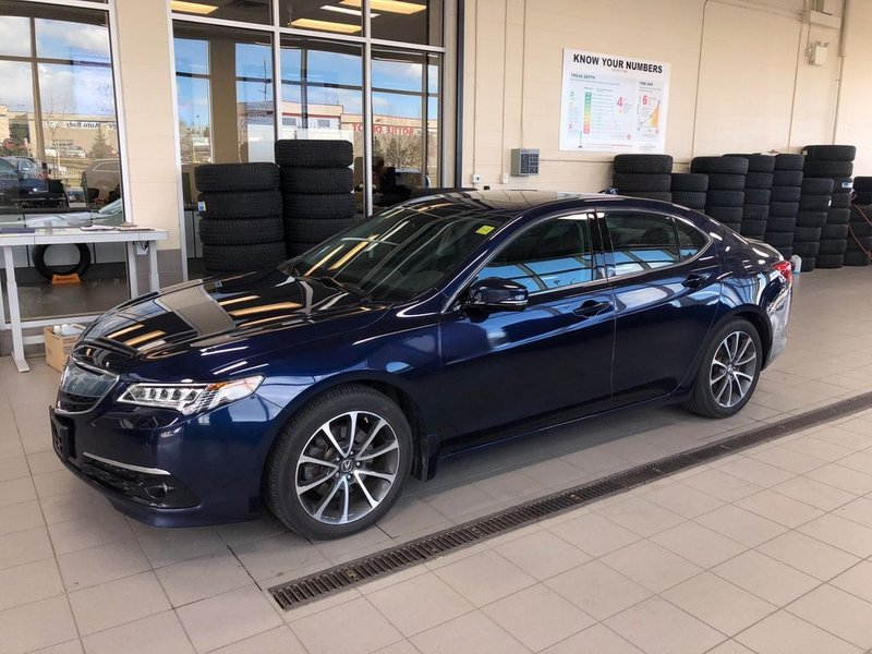 2015 Acura TLX for sale in Calgary, Alberta