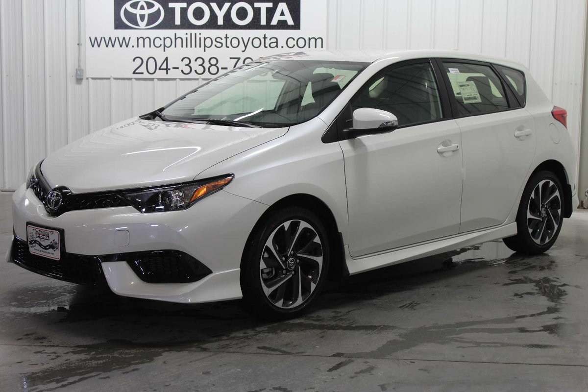 2018 toyota corolla im for sale in winnipeg. Black Bedroom Furniture Sets. Home Design Ideas