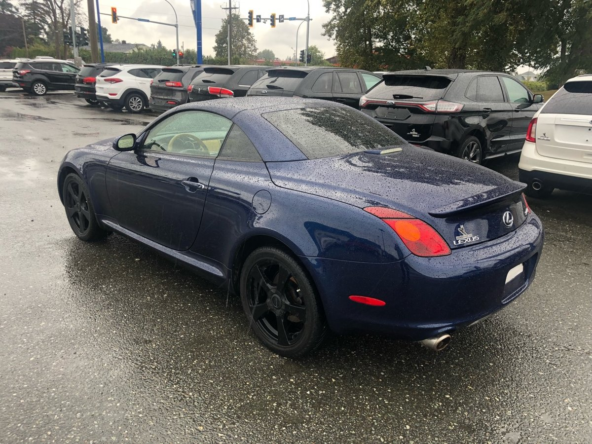 2005 Lexus SC 430 for sale in Campbell River, British Columbia