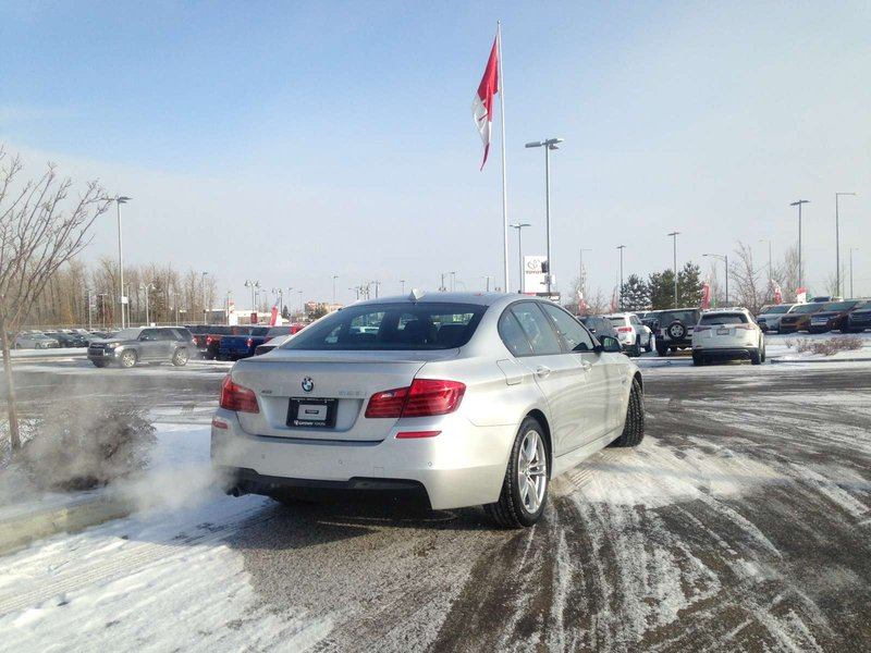 2015 BMW 5 Series for sale in Edmonton, Alberta