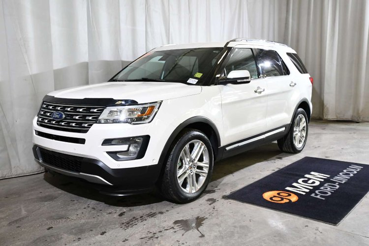 Used 2017 Ford Explorer Limited Pp71762 Red Deer Alberta Go Auto