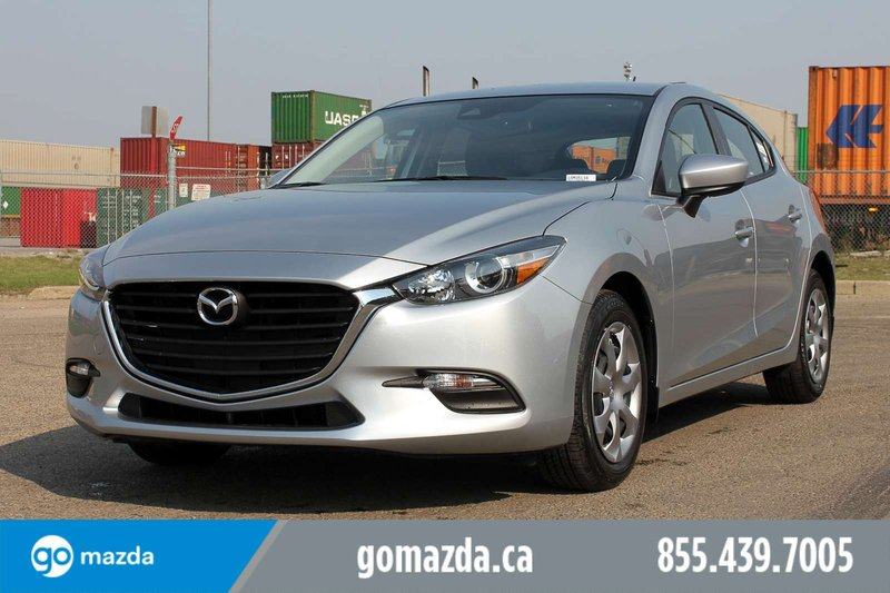 Silver 2018 Mazda Mazda3 Sport GS for sale in Edmonton, Alberta
