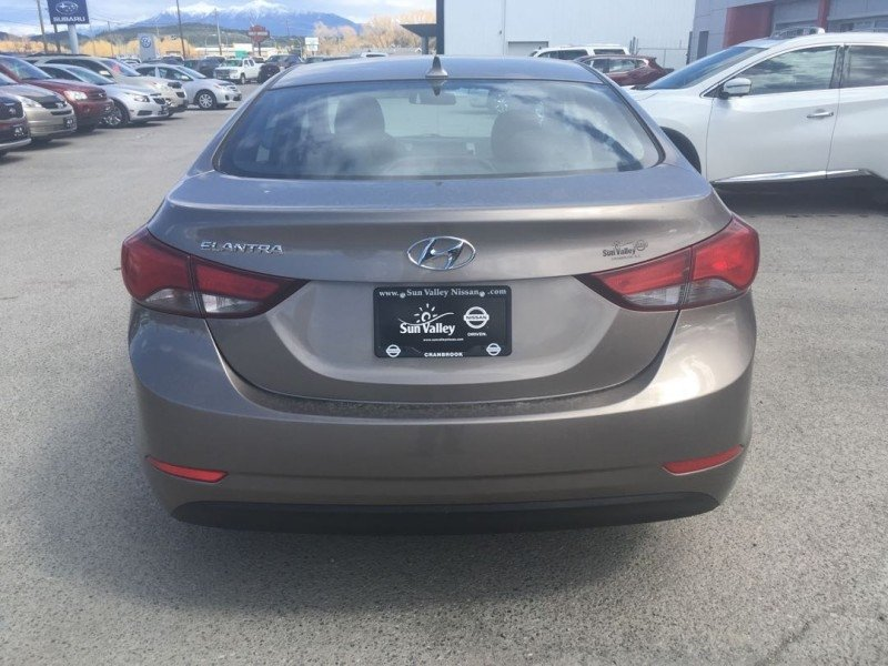 2015 Hyundai Elantra for sale in Cranbrook, British Columbia
