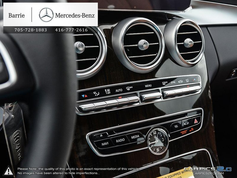 2018 Mercedes-Benz C-Class for sale in Innisfil, Ontario