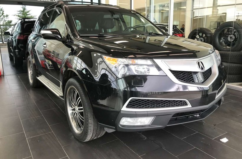 Black 2013 Acura MDX Elite Pkg for sale in Edmonton, Alberta