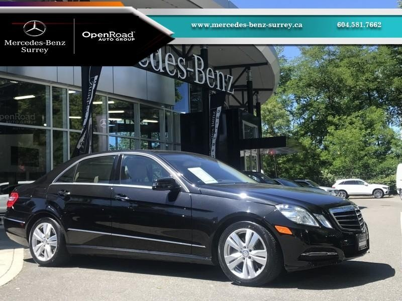 2013 Mercedes-Benz E-Class for sale in Surrey, British Columbia