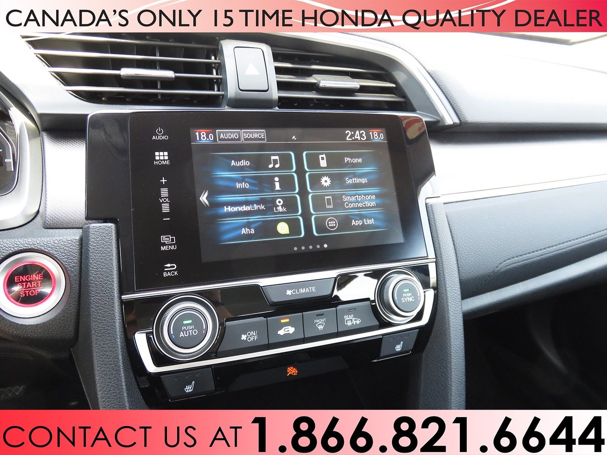 2016 Honda Civic Sedan for sale in Hamilton, Ontario