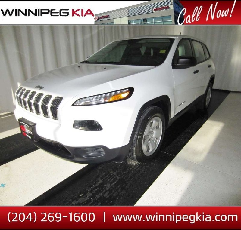 2016 Jeep Cherokee for sale in Winnipeg, Manitoba
