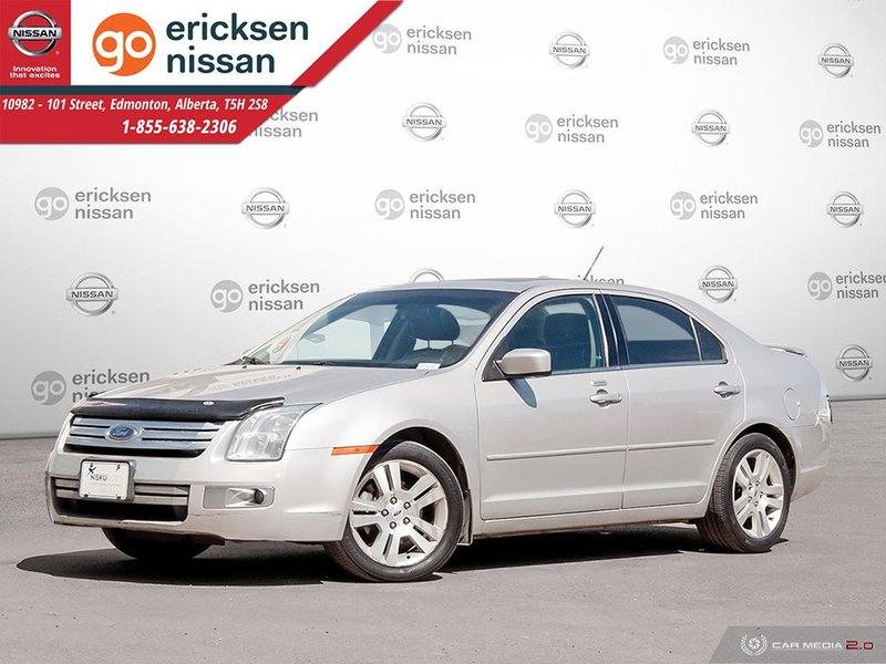 Silver 2008 Ford Fusion SEL for sale in Edmonton, Alberta