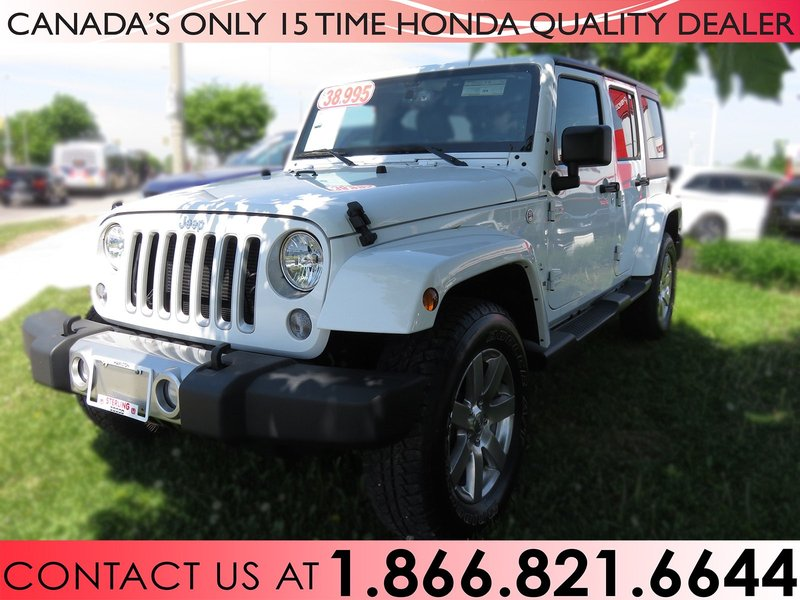 2017 Jeep Wrangler Unlimited for sale in Hamilton, Ontario
