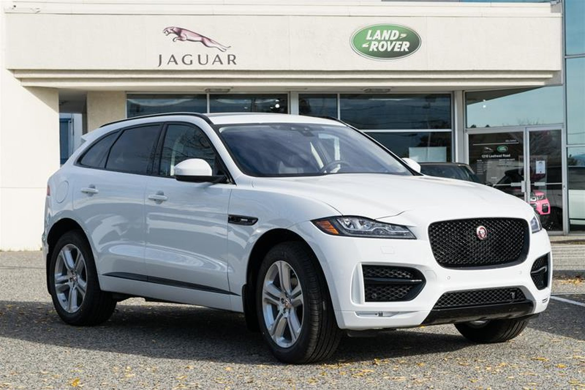 2019 Jaguar F Pace For Sale In Kelowna
