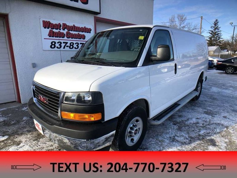 2017 GMC Savana Cargo Van for sale in Winnipeg, Manitoba