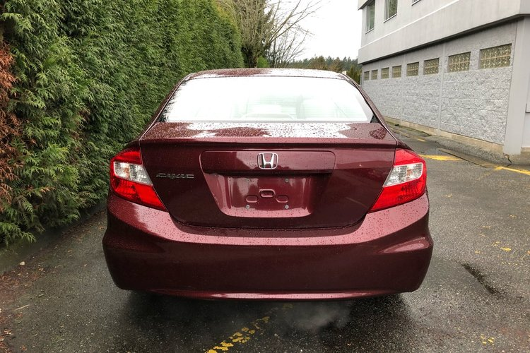 2012 Honda Civic Sdn LX for sale in Surrey, British Columbia