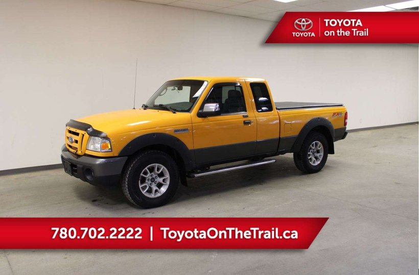 Yellow 2008 Ford Ranger FX4/Off-Rd for sale in Edmonton, Alberta