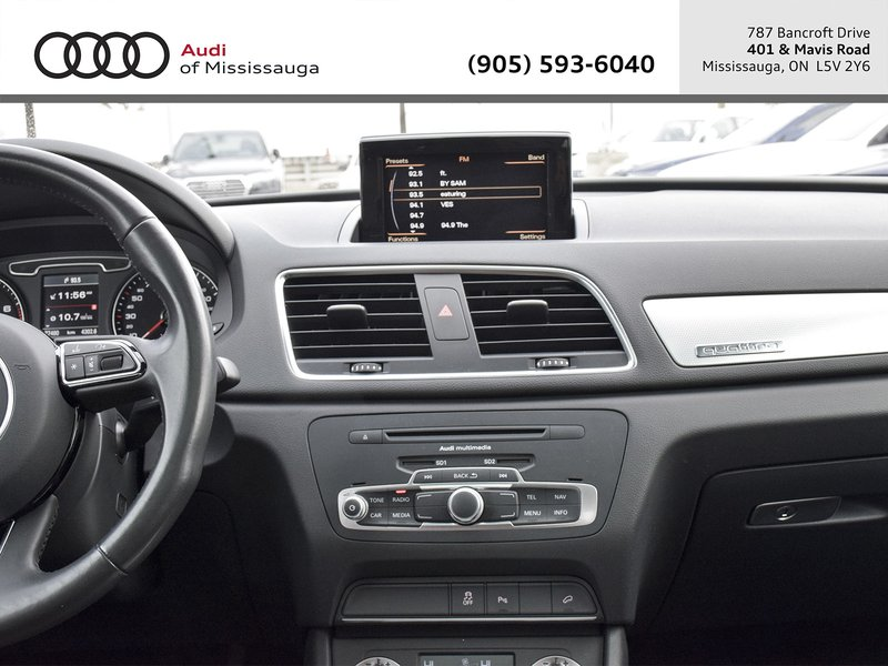 2015 Audi Q3 for sale in Mississauga, Ontario