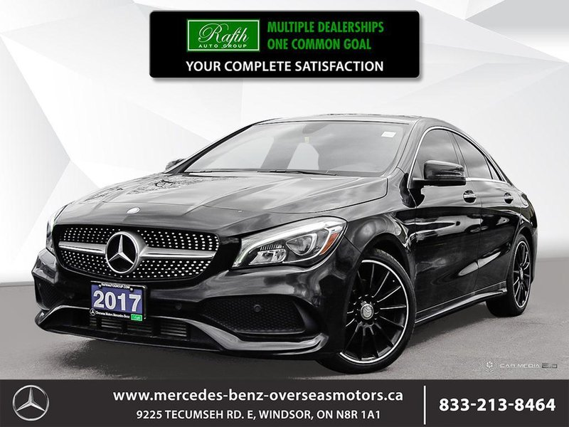 2017 Mercedes-Benz CLA for sale in Windsor, Ontario
