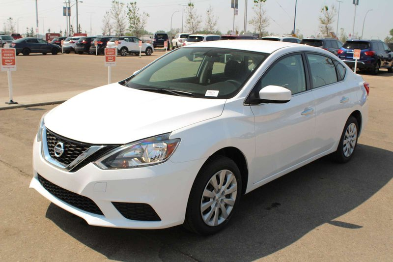 White 2019 Nissan Sentra S for sale in Edmonton, Alberta