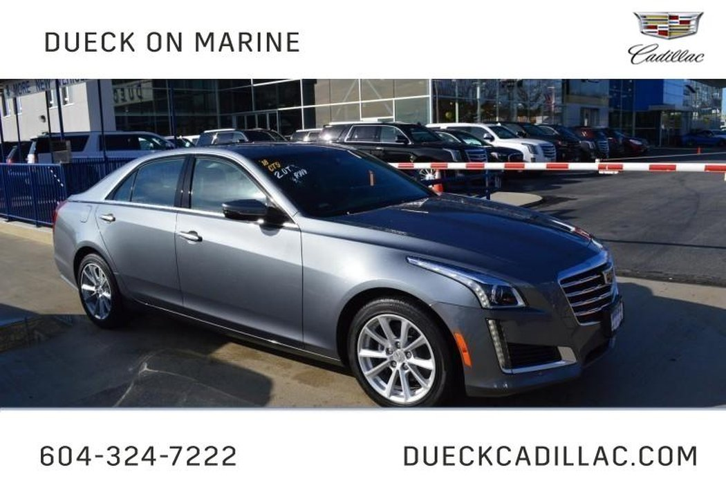 2018 Cadillac Cts Sedan For Sale In Vancouver