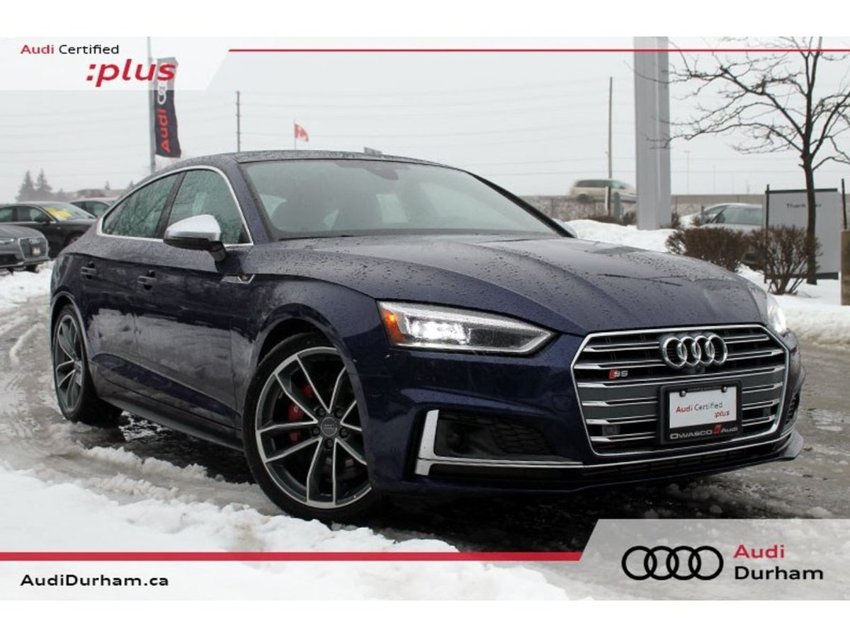 1613b39fa2b 2018 Audi S5 Sportback for sale in Whitby