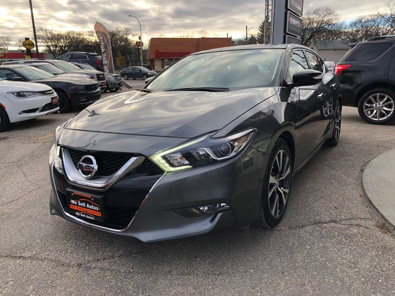 2017 Nissan Maxima for sale in Winnipeg, Manitoba