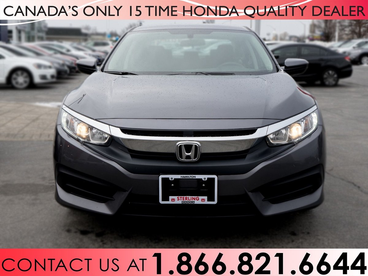 2016 Honda Civic for sale in Hamilton, Ontario