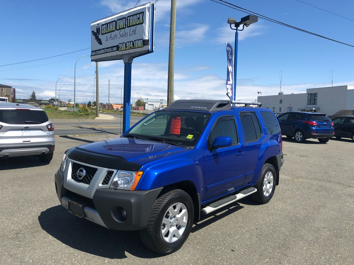 2012 Nissan Xterra for sale in Campbell River, British Columbia