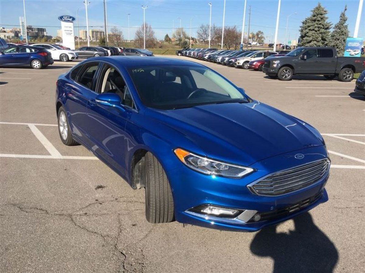 2017 Ford Fusion SE & Ford Demo Vehicles on Sale in Oakville Ontario markmcfarlin.com