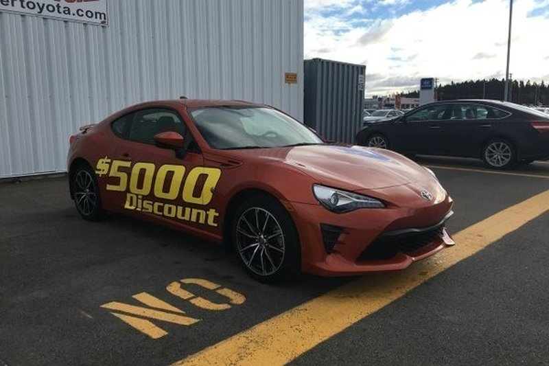 2017 Toyota 86 for sale in Gander, Newfoundland and Labrador